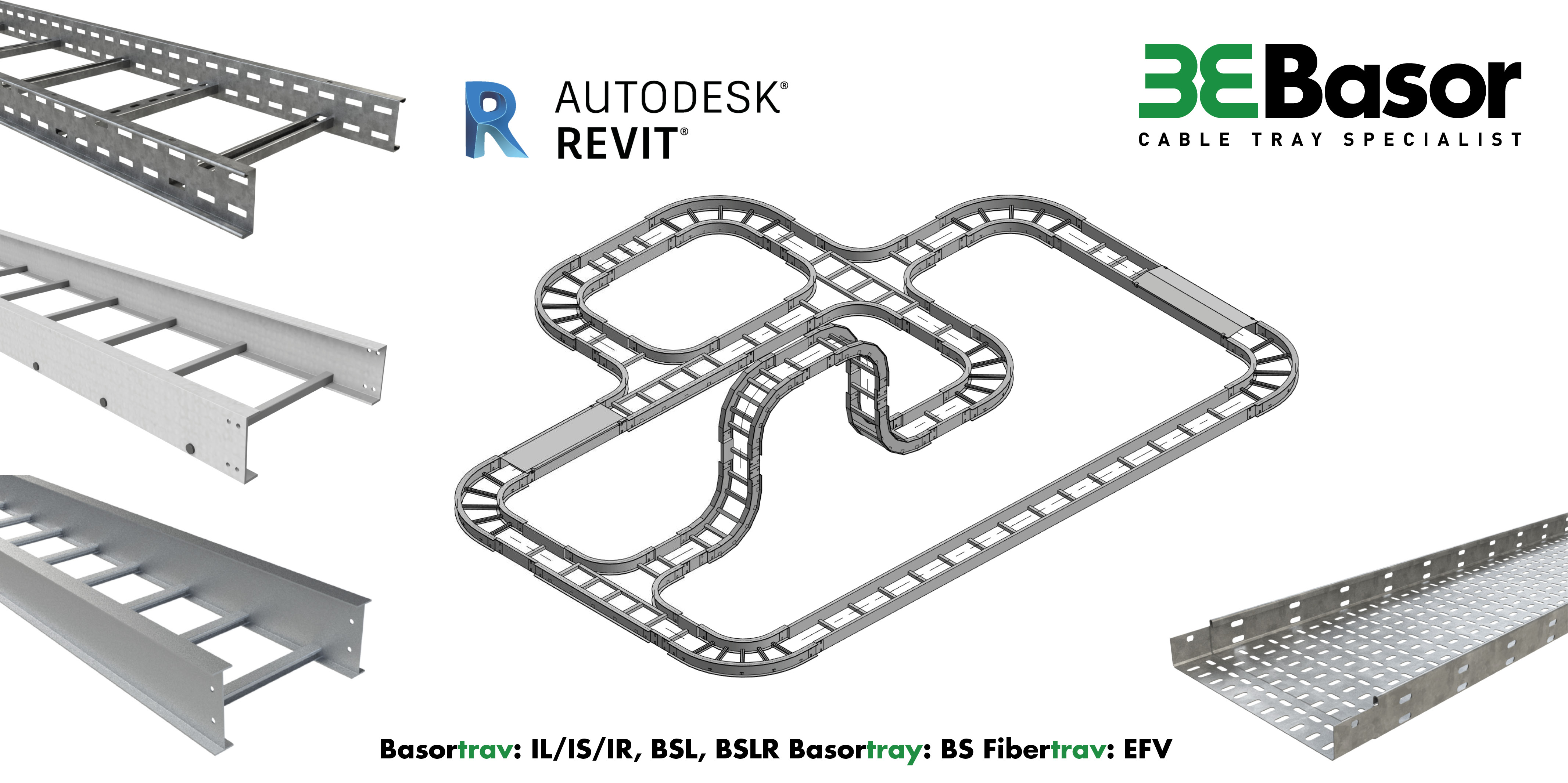 Basor presents its BIM libraries in REVIT format for its product